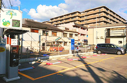 月極・時間貸併用駐車場(東大阪市岩田町)